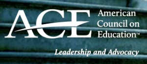 American Council on Education logo and tagline